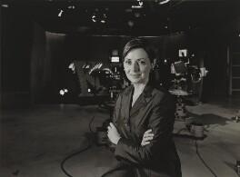 Carol Jean Vorderman, by Julia Hedgecoe - NPG P751(19)
