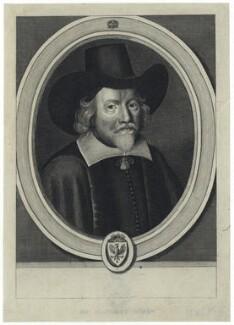 Francis Rous, after William Faithorne, published by  William Richardson - NPG D29083