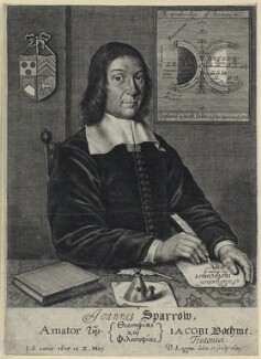 John Sparrow, by David Loggan - NPG D29097