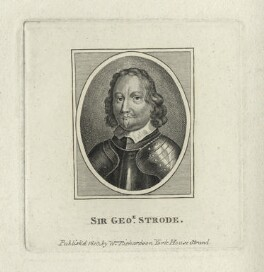 Sir George Strode, after Unknown artist, published by  William Richardson - NPG D29098
