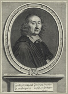 Robert Menteith, by René Lochon, after  Pierre Mignard - NPG D29101