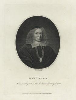 Sir William Dugdale, by Berrel - NPG D29103