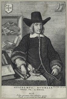 Sir William Dugdale, by Wenceslaus Hollar - NPG D29104