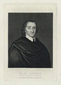 Elias Ashmole, after Unknown artist, published 1824 - NPG D29106 - © National Portrait Gallery, London