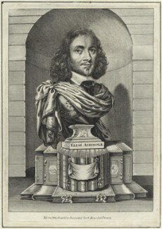 Elias Ashmole, after William Faithorne - NPG D29108