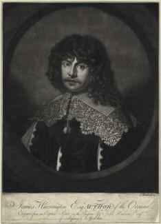 James Harrington, by Giuseppe Filippo Liberati ('Joseph') Marchi - NPG D29112