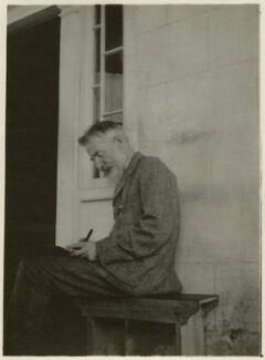 George Bernard Shaw, probably by Sydney Haldane Olivier, 1st Baron Olivier - NPG x131332
