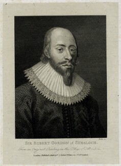 Sir Robert Gordon of Straloch, by Thomas Trotter - NPG D29142