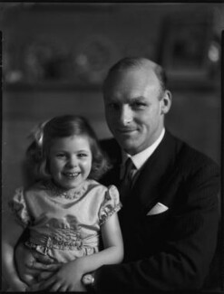 (William) Wavell Wakefield, 1st Baron Wakefield of Kendal with Ruth, by Bassano Ltd - NPG x152606