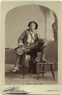 Joseph Jefferson as Rip van Winkle in 'Rip van Winkle', by Napoleon Sarony - NPG x18859