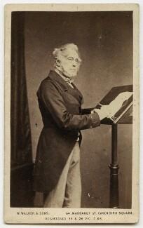 Henry John Temple, 3rd Viscount Palmerston, by Samuel Alexander Walker, for  William Walker & Sons - NPG x38985