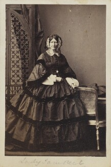 Lady Jane Peel (née Lennox), by Camille Silvy - NPG Ax9795