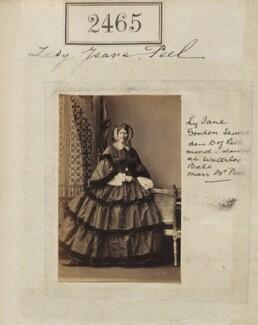 Lady Jane Peel (née Lennox), by Camille Silvy - NPG Ax51854