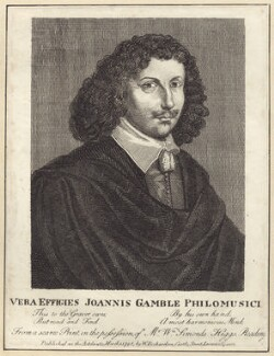 John Gamble, published by William Richardson, after  Thomas Cross - NPG D29153