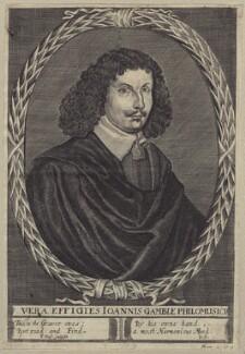 John Gamble, by Thomas Cross, after  Unknown artist - NPG D29154