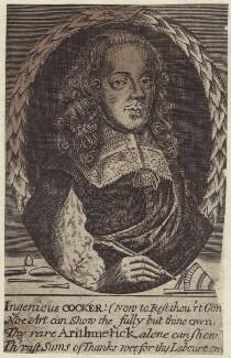 Edward Cocker, after Unknown artist, mid 17th century - NPG D29155 - © National Portrait Gallery, London