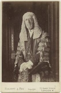 Arthur Wellesley Peel, 1st Viscount Peel, by Elliott & Fry - NPG x12579