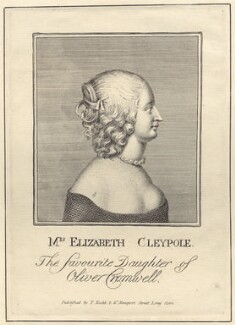 Elizabeth Claypole (née Cromwell), published by Thomas Rodd the Elder - NPG D29182