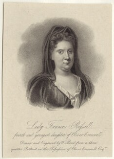 Frances Russell (née Cromwell), Lady Russell, by William Bond, after  Unknown artist - NPG D29183