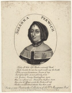 Susanna Perwich, published by William Richardson, after  P. Rogerson - NPG D29197