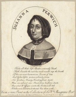 Susanna Perwich, after P. Rogerson, published by  William Richardson - NPG D29202