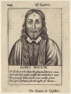 James Nayler, after Unknown artist, published 1654 - NPG D29207 - © National Portrait Gallery, London