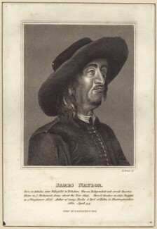 James Nayler, by R. Grave, published by  James Caulfield - NPG D29210