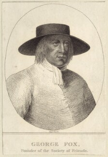 George Fox, possibly by R. Sawyer, late 18th to early 19th century - NPG D29212 - © National Portrait Gallery, London