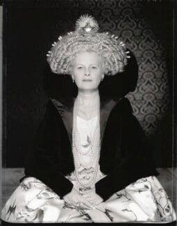 Dame Vivienne Westwood as Elizabeth I, by Gian Paolo Barbieri - NPG x131334