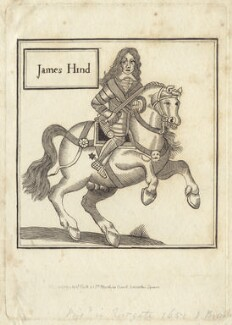 James Hind, published by John Scott - NPG D29229