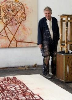 Tony Bevan, by Dennis Toff - NPG x131339