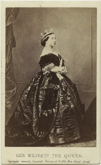 Queen Victoria, by Charles Clifford - NPG Ax131387