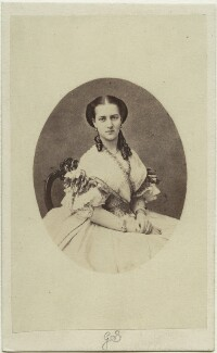 Queen Alexandra, by Georg Emil Hansen - NPG Ax131389