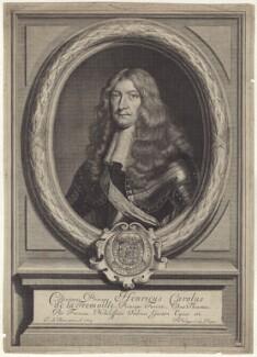 Henri-Charles de la Trémoille, by Pieter Philippe, after  Jan de Baen - NPG D29233