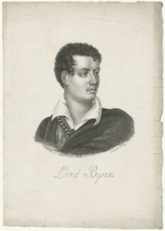 George Gordon Byron, 6th Baron Byron, possibly by Edmond Morin - NPG D32521