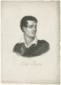 Lord Byron, possibly by Edmond Morin - NPG D32521