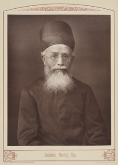 Dadabhai Naoroji, by Lock & Whitfield, published by  W.H. Allen & Co - NPG Ax28706