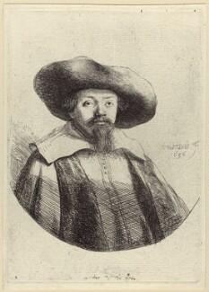 Menasseh Ben Israel, by Rembrandt - NPG D29239