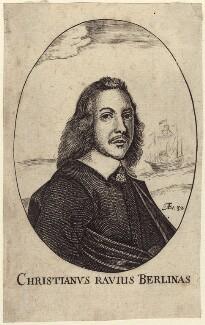 Christian Ravis (Christianus Ravius), after Unknown artist - NPG D29240