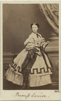 Princess Helena Augusta Victoria of Schleswig-Holstein, by John Jabez Edwin Mayall - NPG Ax131381