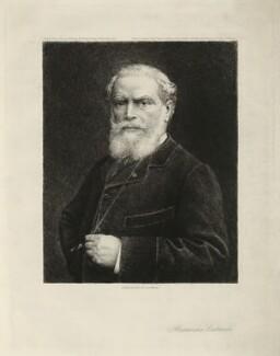 Alexandre Cabanel, by Benjamin Auguste Louis Damman - NPG D32527