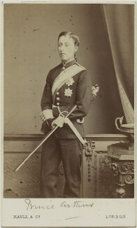 Prince Arthur, 1st Duke of Connaught and Strathearn, by Maull & Co - NPG Ax131370