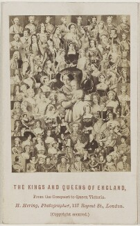 'The Kings and Queens of England: From the Conquest to Queen Victoria', by Henry Hering - NPG Ax131392