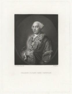 Charles Sloane Cadogan, 1st Earl Cadogan, by Robert Bowyer Parkes, after  Sir Joshua Reynolds - NPG D32530