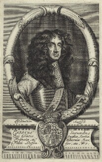 King Charles II, by Frederick Hendrik van Hove, after  Unknown artist - NPG D29252