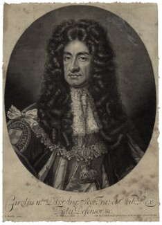 King Charles II, by Robert Williams, after  Sir Godfrey Kneller, Bt - NPG D29254