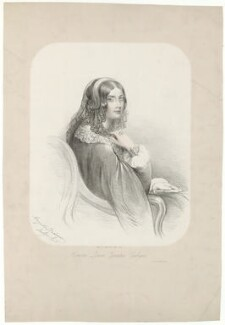 Honoria Louisa (née Blake), Countess Cadogan, by Lady Augusta Sarah Cadogan, after  Unknown artist - NPG D32532
