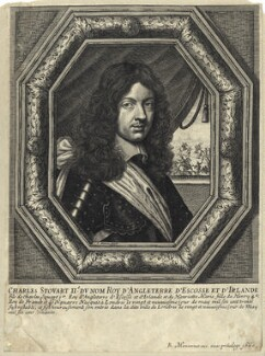 King Charles II, published by Balthasar Moncornet, after  Jan van den Hoeck (Hoecke) - NPG D29262