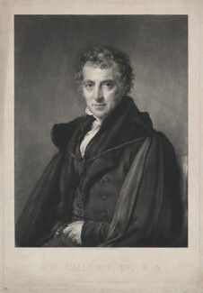 Sir Augustus Wall Callcott, by and published by John Linnell - NPG D32538