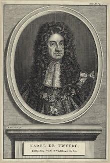 King Charles II, by Bernard Picart (Picard), after  Sir Godfrey Kneller, Bt - NPG D29274